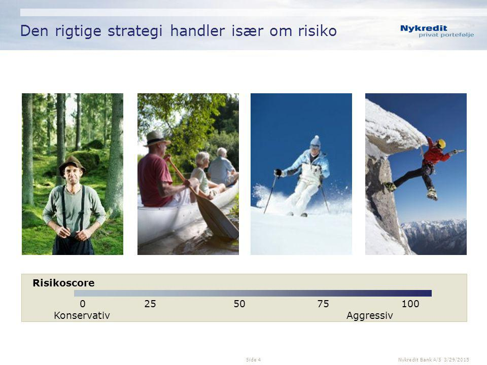 Den rigtige strategi handler især om risiko