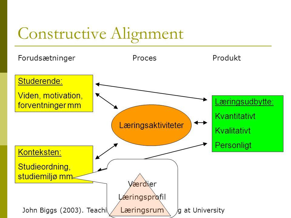 Constructive Alignment