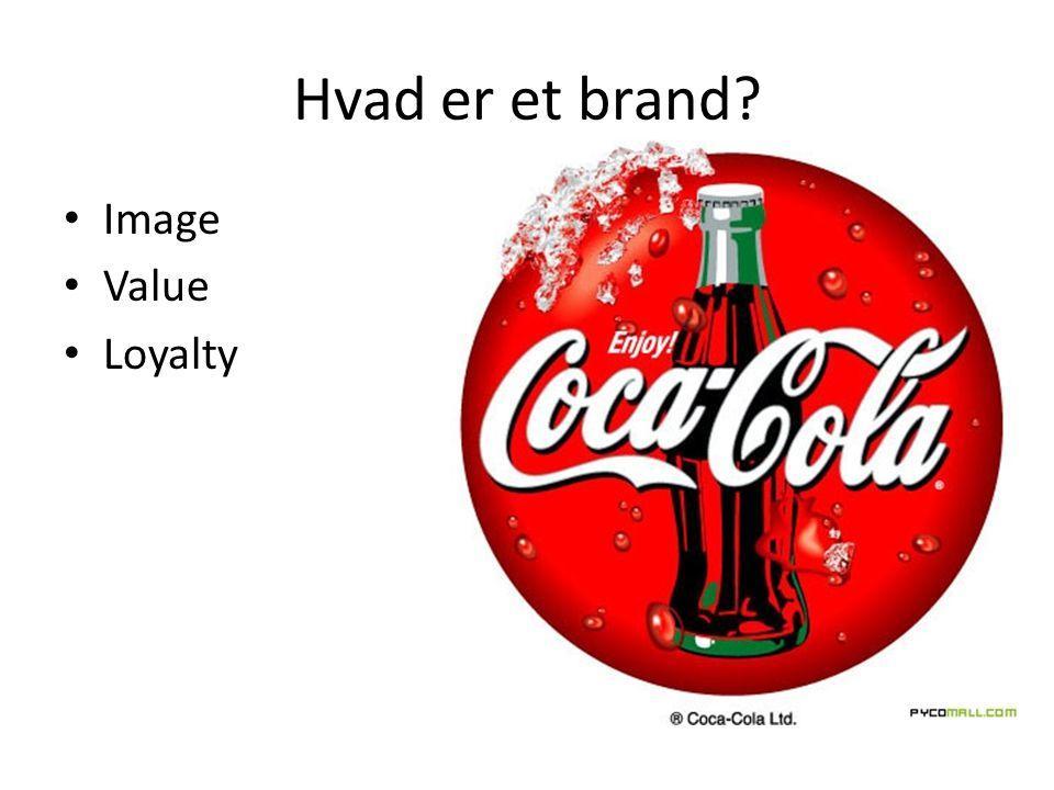 Hvad er et brand Image Value Loyalty