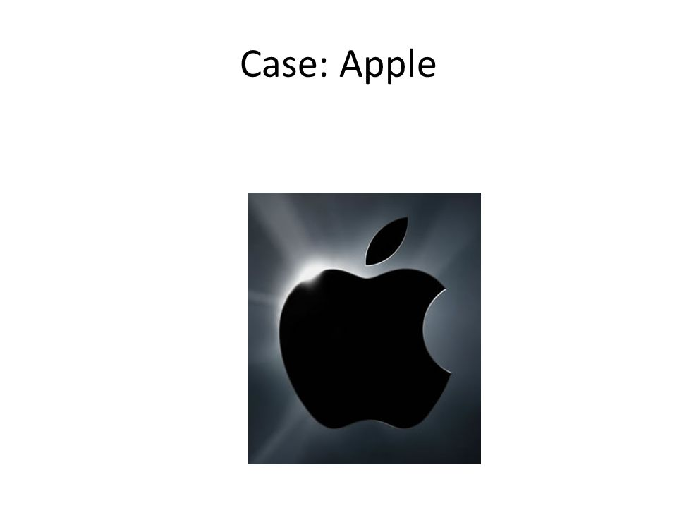 Case: Apple