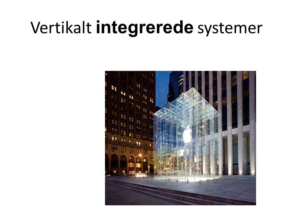 Vertikalt integrerede systemer