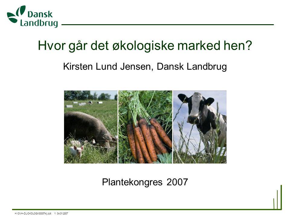 Hvor går det økologiske marked hen