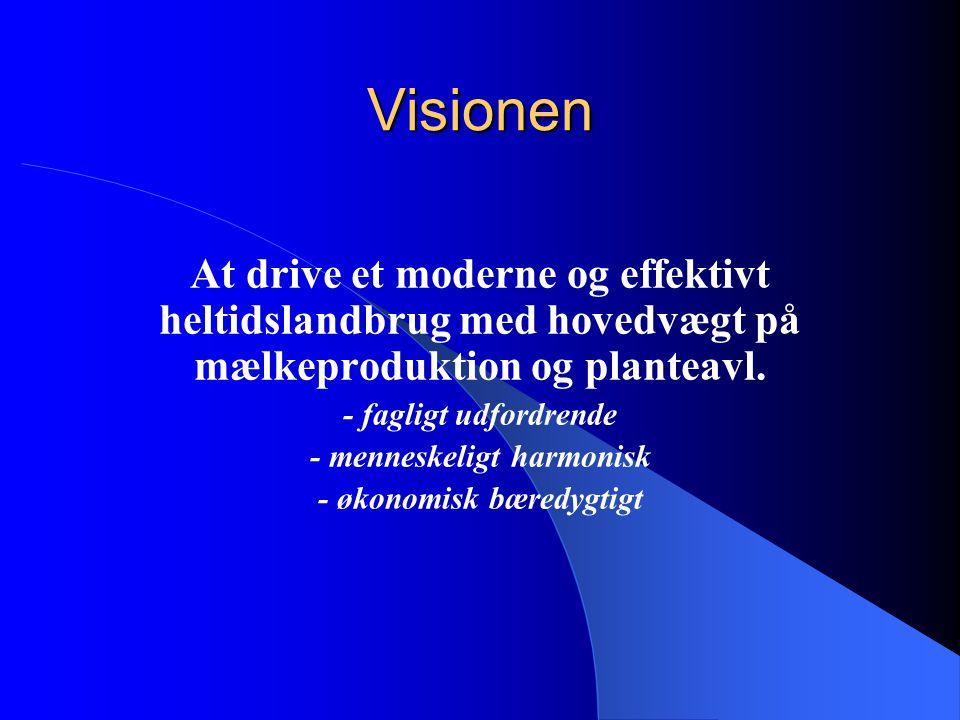 - menneskeligt harmonisk - økonomisk bæredygtigt