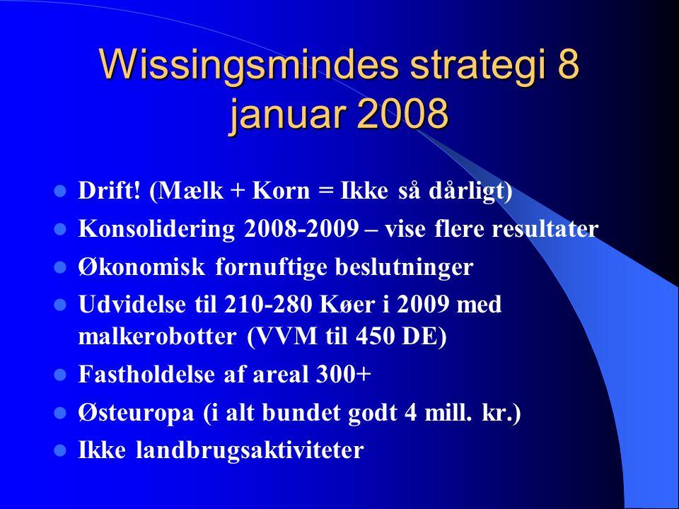 Wissingsmindes strategi 8 januar 2008