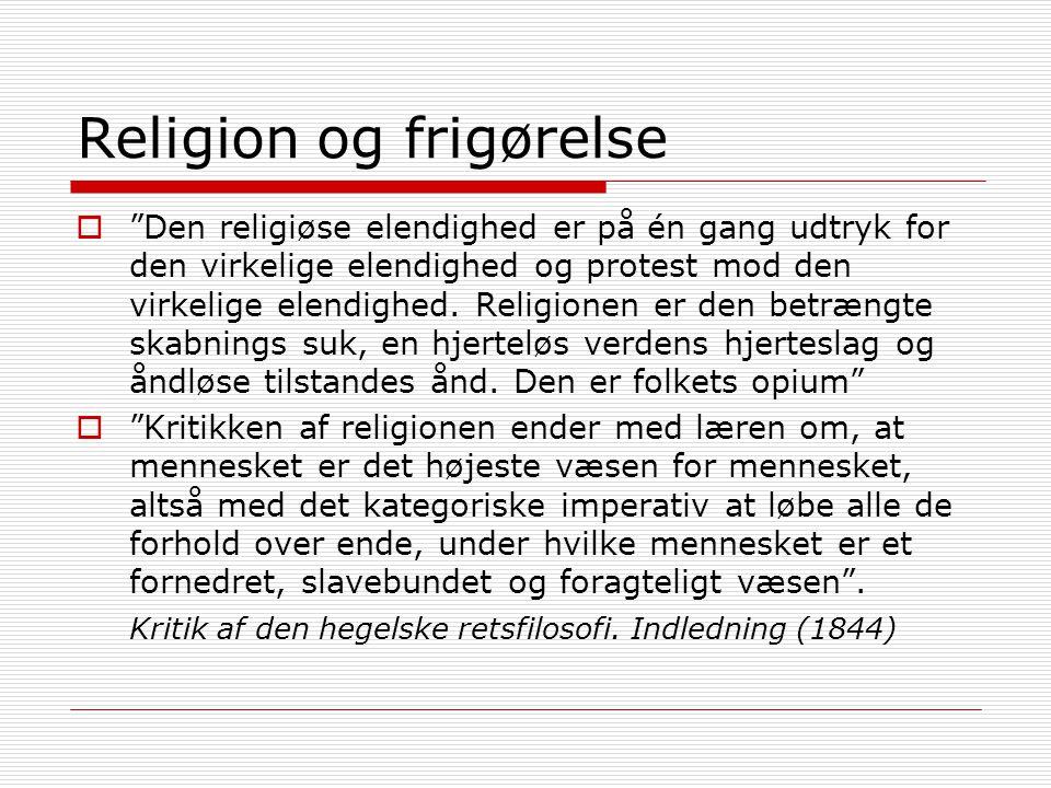 Religion og frigørelse