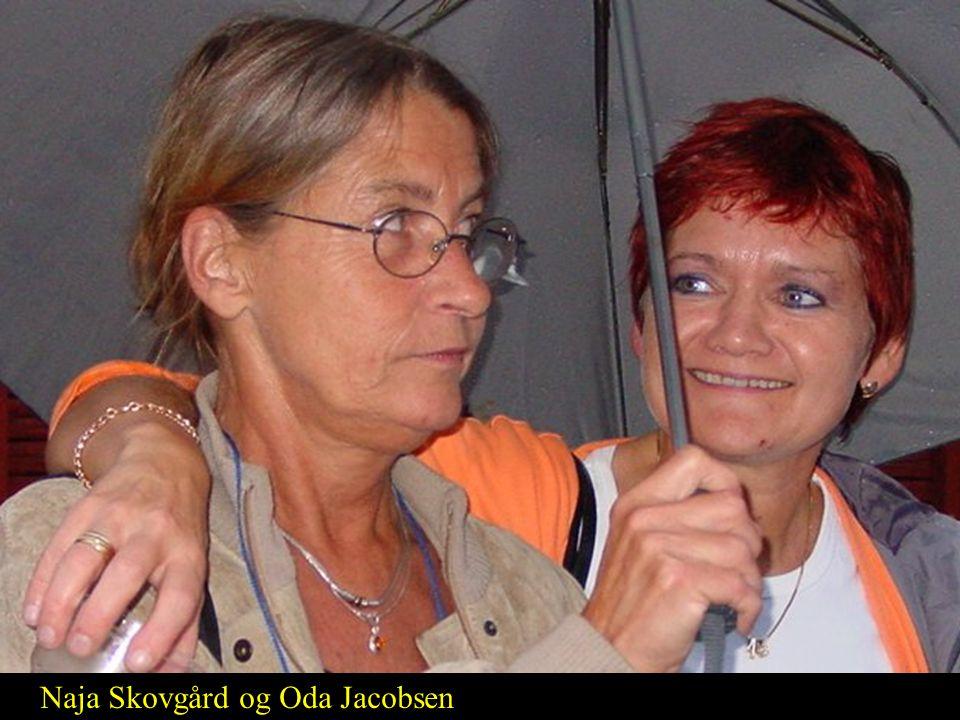 Naja Skovgård og Oda Jacobsen