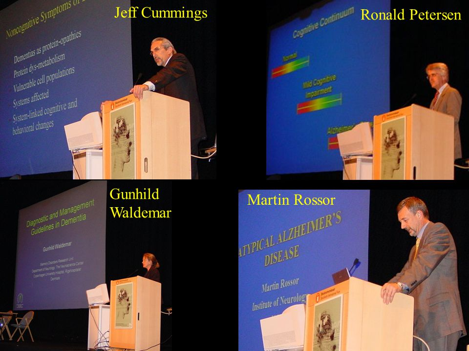 Jeff Cummings Ronald Petersen Gunhild Waldemar Martin Rossor
