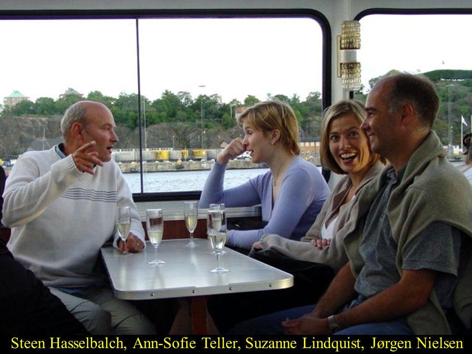 Steen Hasselbalch, Ann-Sofie Teller, Suzanne Lindquist, Jørgen Nielsen