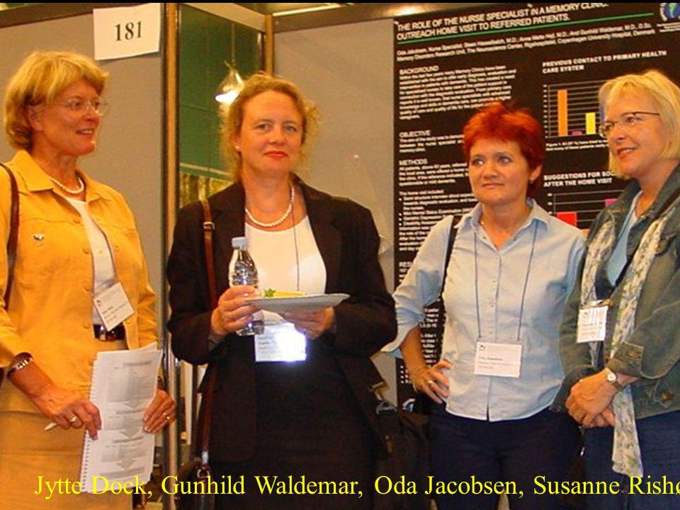 Jytte Dock, Gunhild Waldemar, Oda Jacobsen, Susanne Rishøj