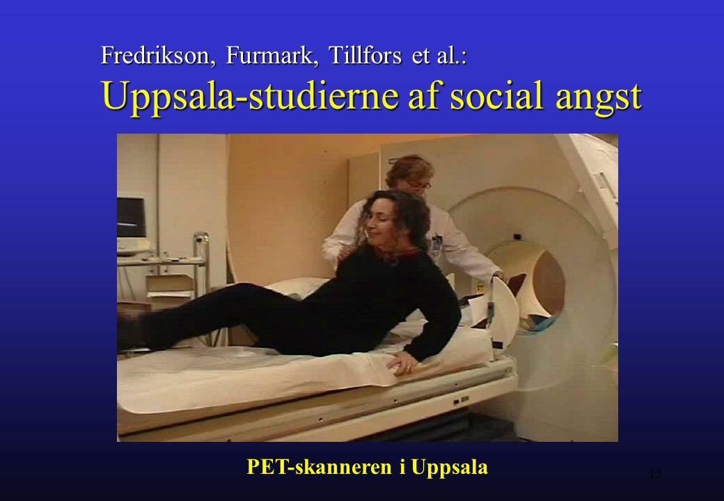 Uppsala-studierne af social angst