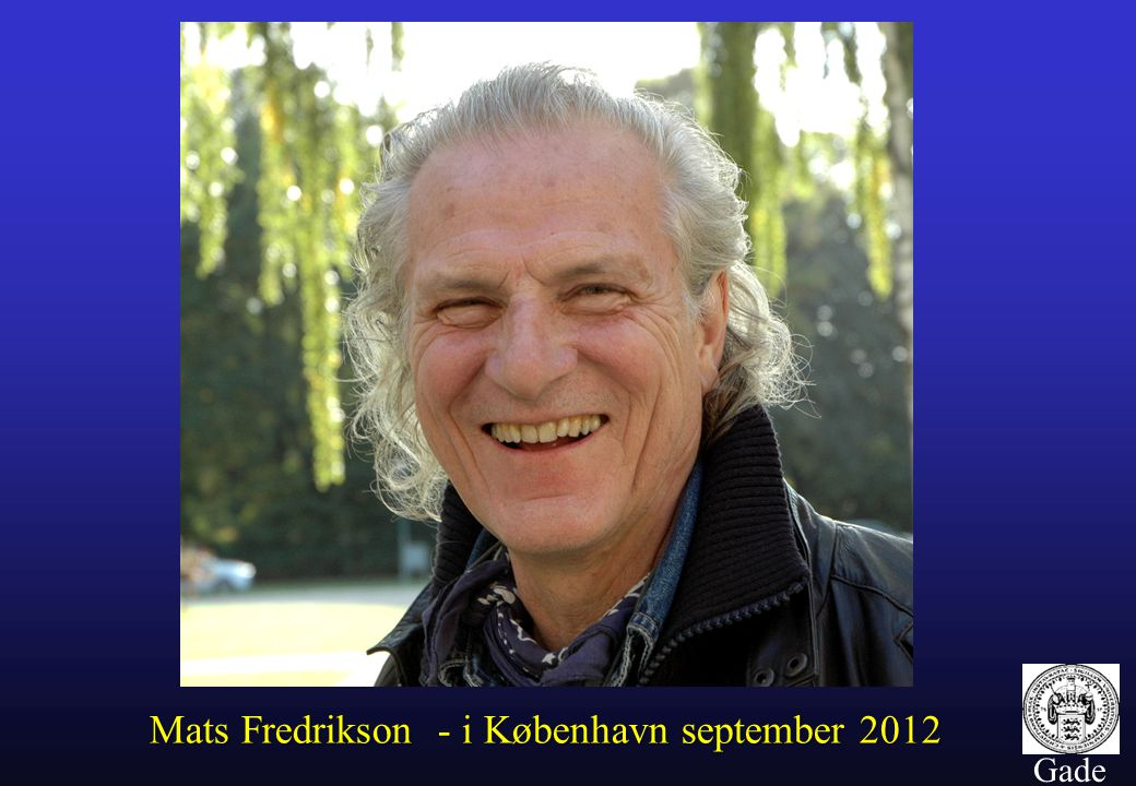 Mats Fredrikson - i København september 2012
