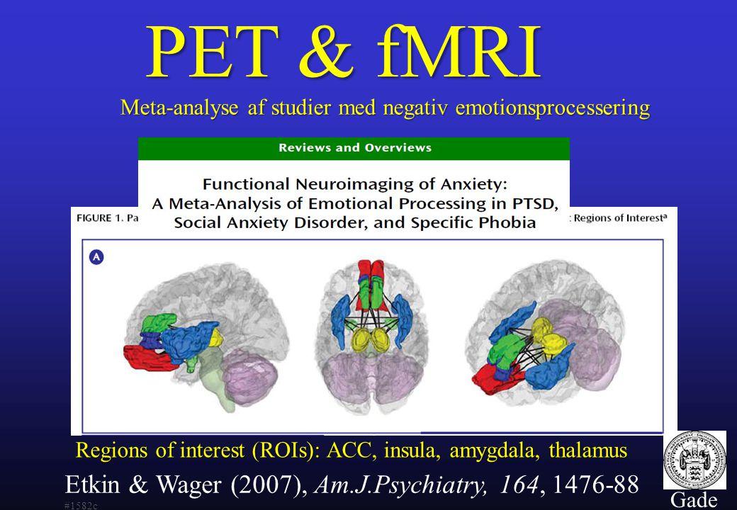 Meta-analyse af studier med negativ emotionsprocessering