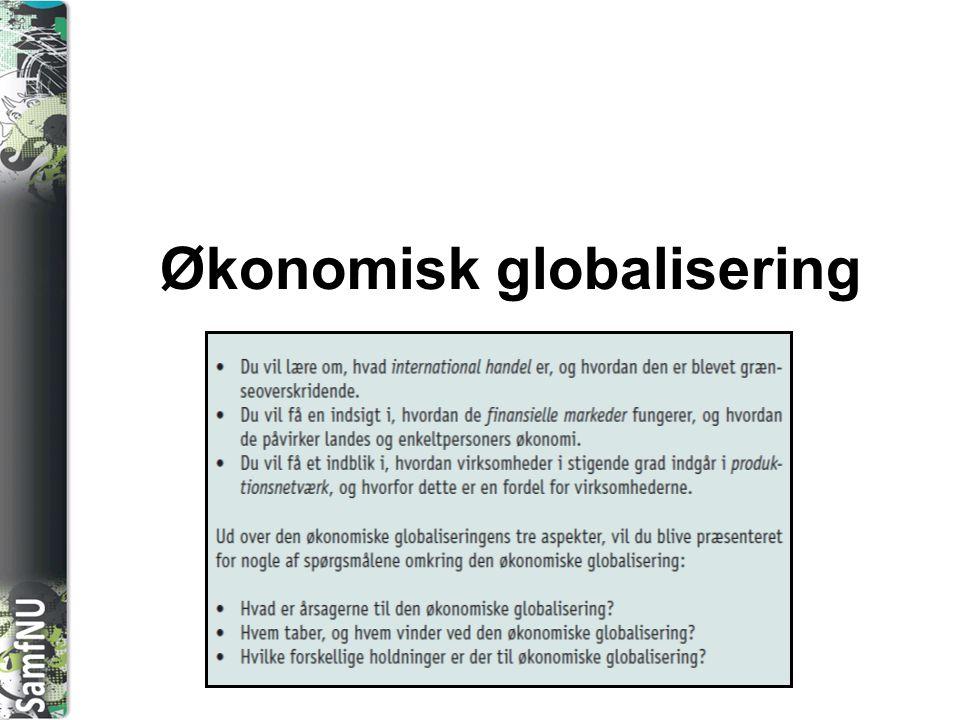 Økonomisk globalisering