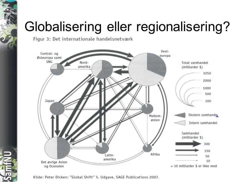 Globalisering eller regionalisering