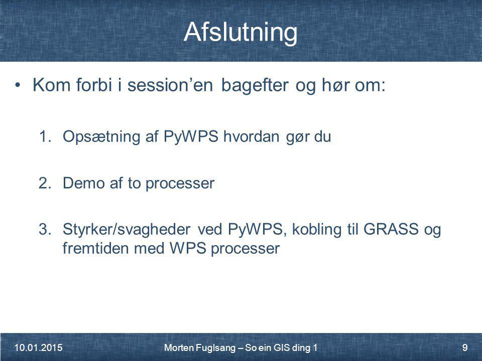 Morten Fuglsang – So ein GIS ding 1