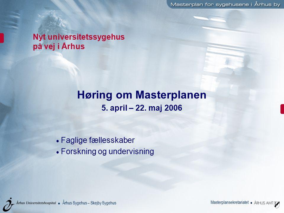 Nyt universitetssygehus på vej i Århus