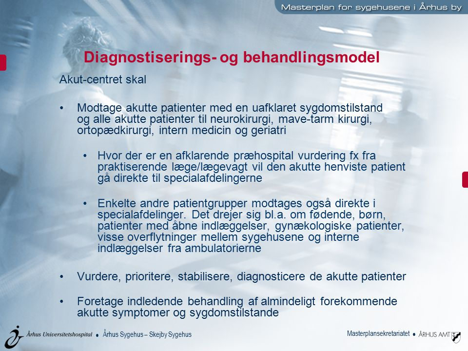 Diagnostiserings- og behandlingsmodel