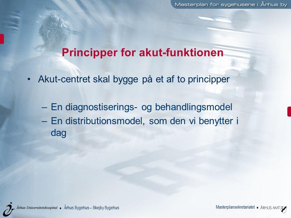 Principper for akut-funktionen