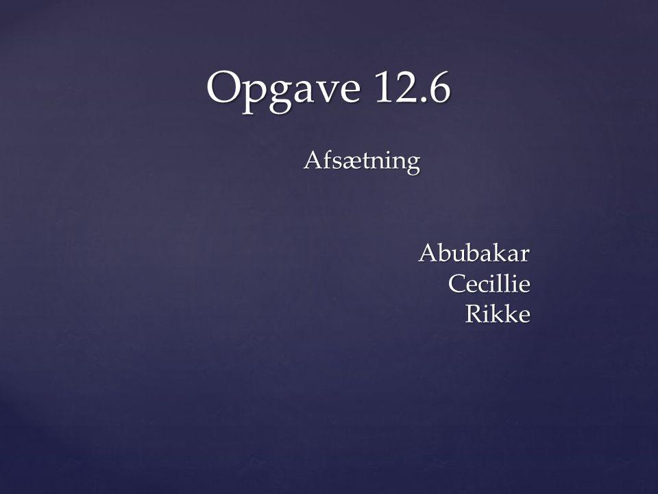 Abubakar Cecillie Rikke