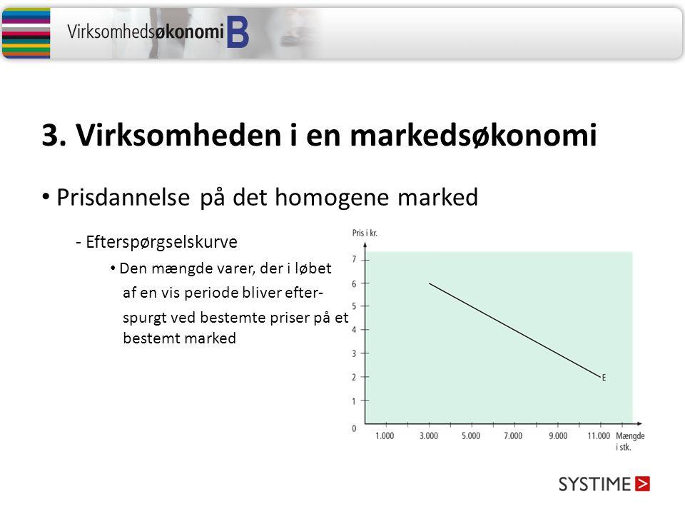 3. Virksomheden i en markedsøkonomi