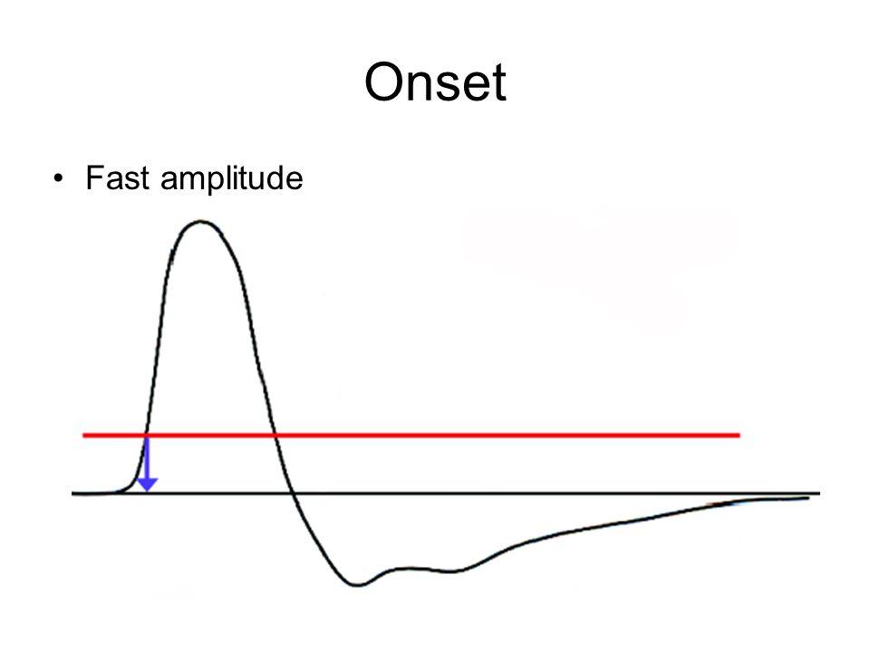 Onset Fast amplitude