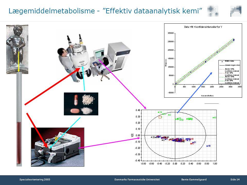 Lægemiddelmetabolisme - Effektiv dataanalytisk kemi