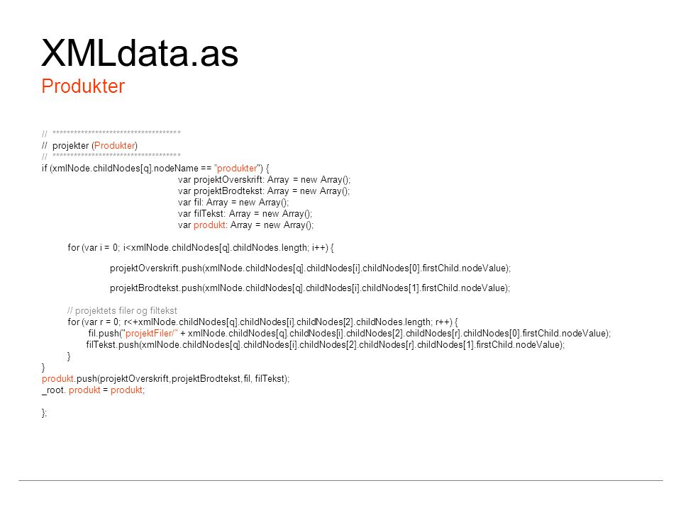 XMLdata.as Produkter // ************************************
