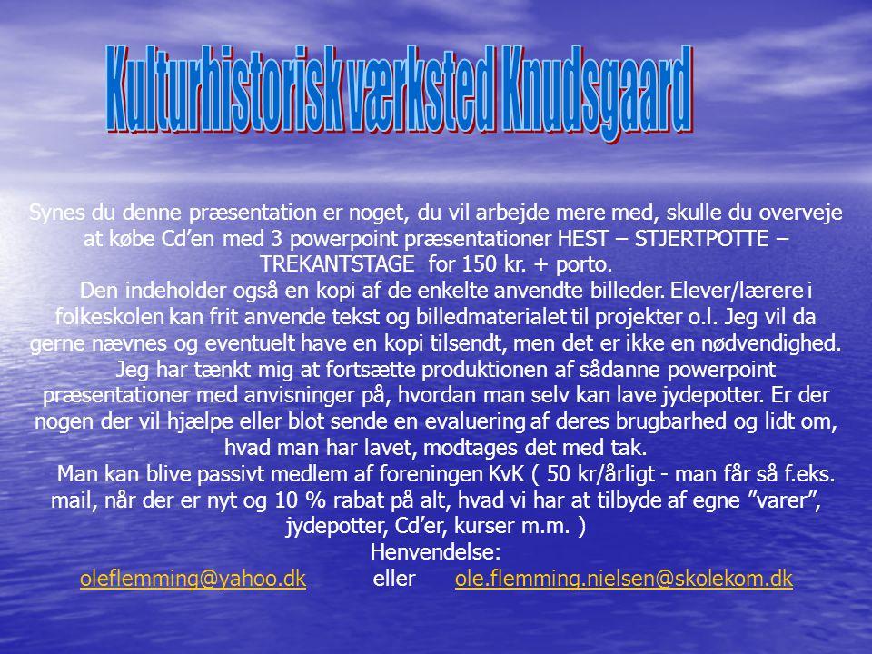 Kulturhistorisk værksted Knudsgaard