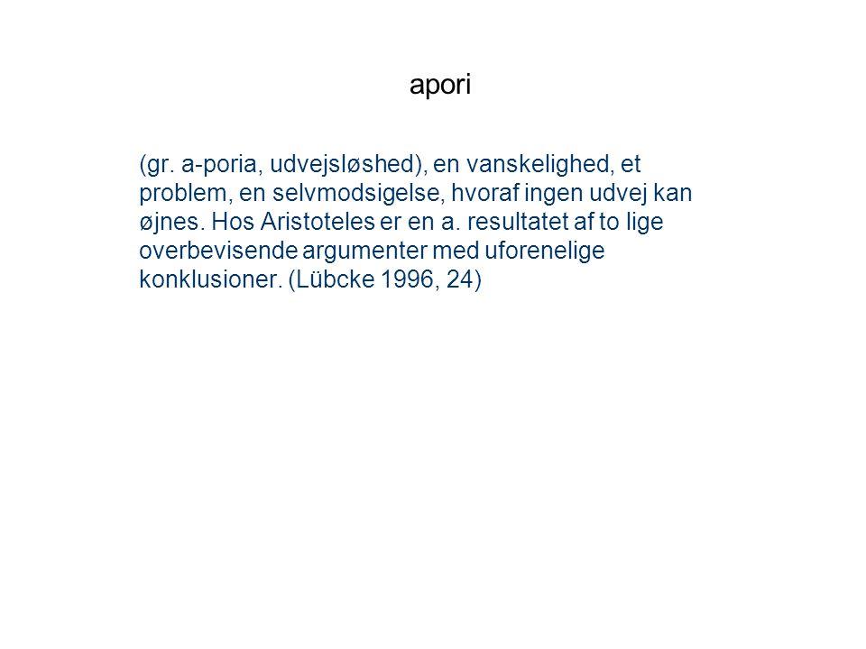 apori
