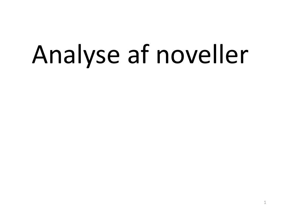 Analyse af noveller