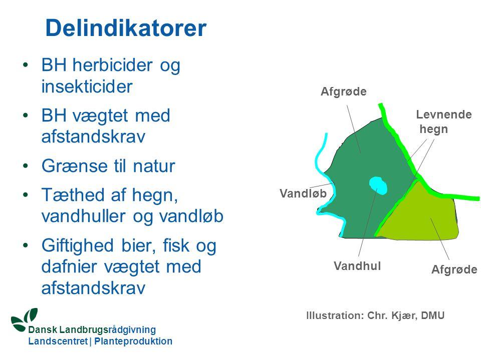 Delindikatorer BH herbicider og insekticider