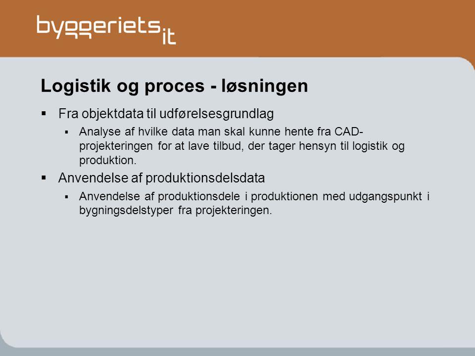 Logistik og proces - løsningen