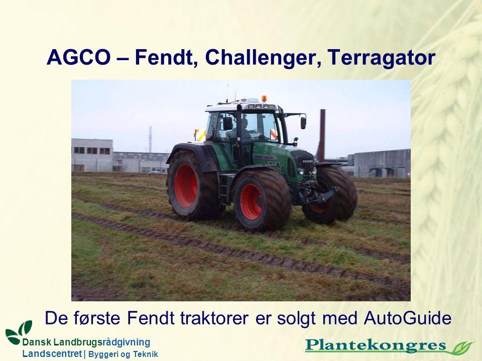 AGCO – Fendt, Challenger, Terragator