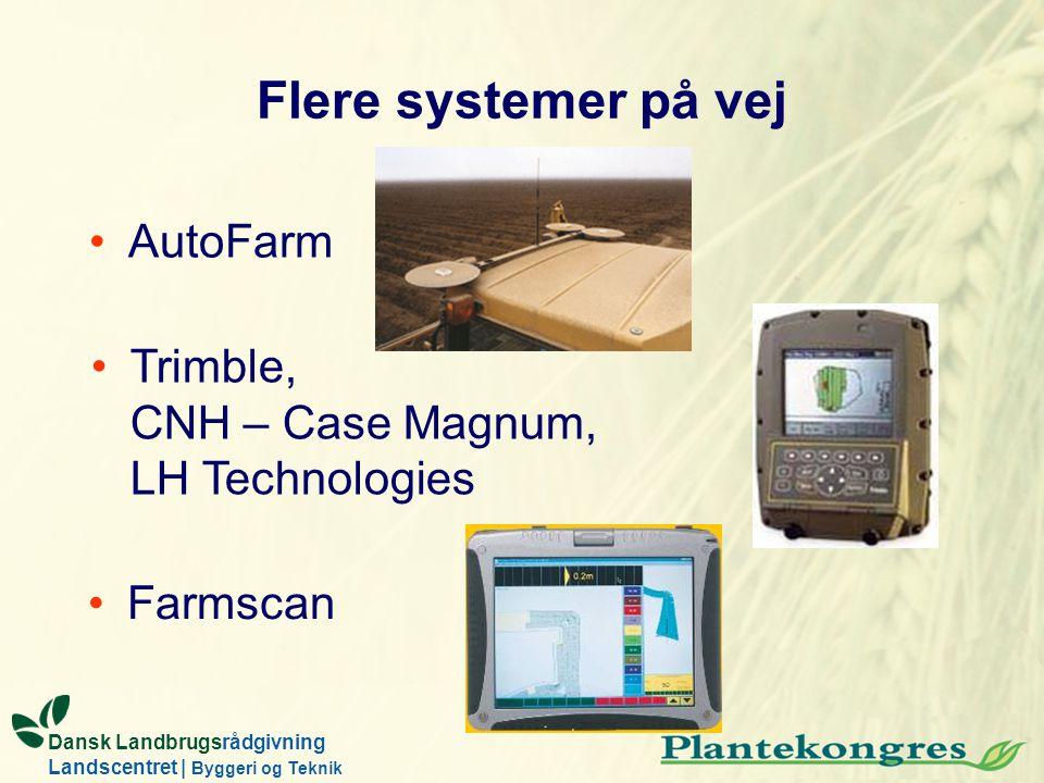 Flere systemer på vej AutoFarm