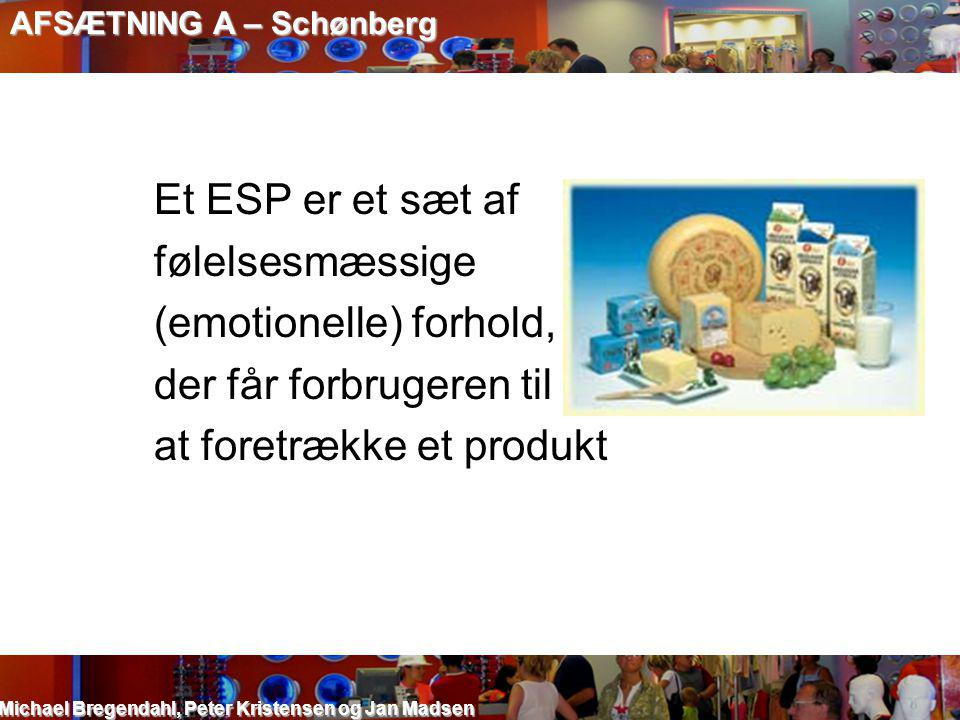 (emotionelle) forhold, der får forbrugeren til