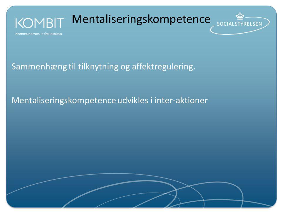 Mentaliseringskompetence