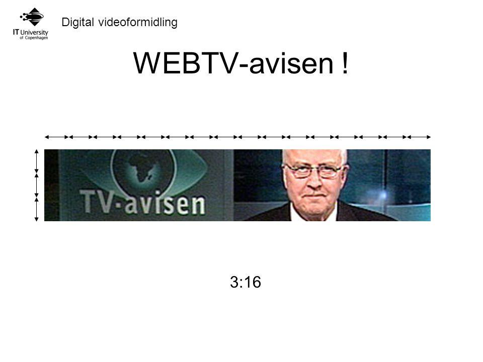 WEBTV-avisen ! 3:16 9:16