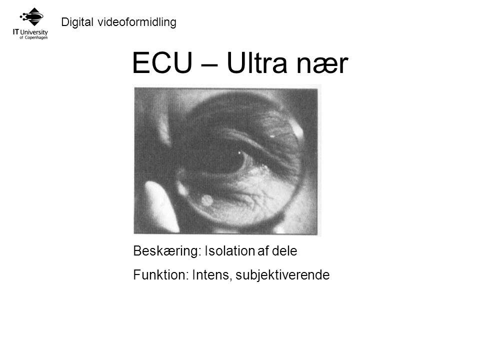 ECU – Ultra nær Beskæring: Isolation af dele