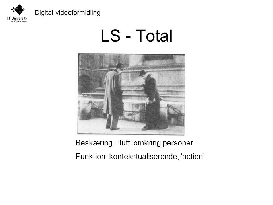 LS - Total Beskæring : 'luft' omkring personer