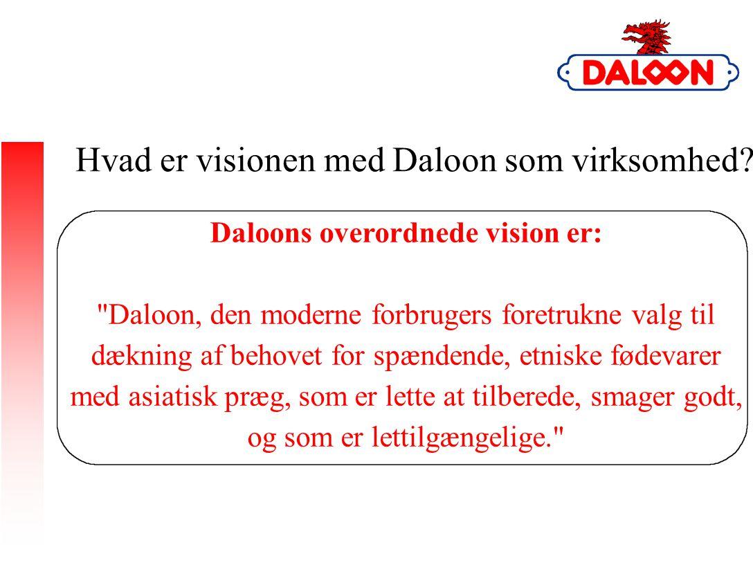 Hvad er visionen med Daloon som virksomhed