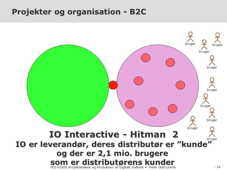 Projekter og organisation - B2C