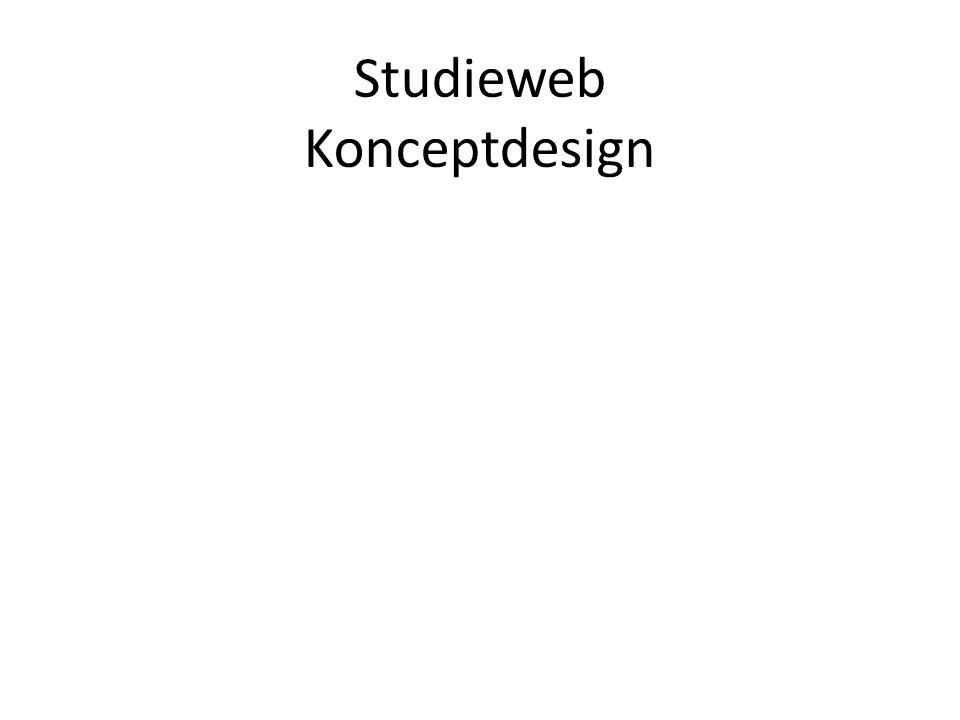 Studieweb Konceptdesign