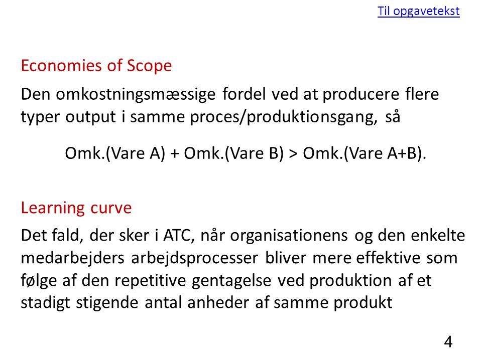 Omk.(Vare A) + Omk.(Vare B) > Omk.(Vare A+B).