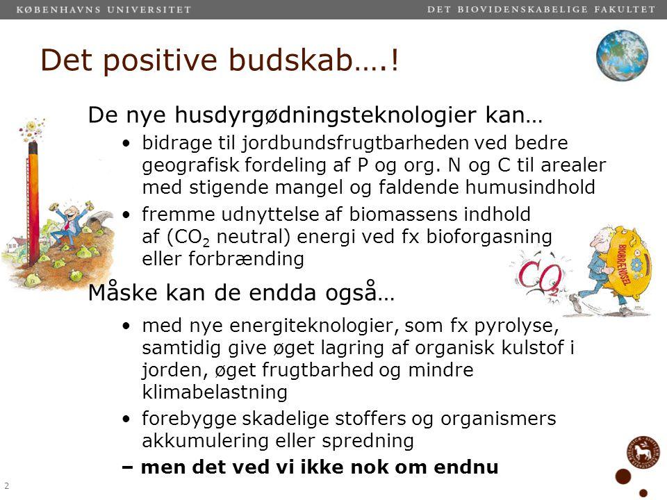 Det positive budskab….! De nye husdyrgødningsteknologier kan…