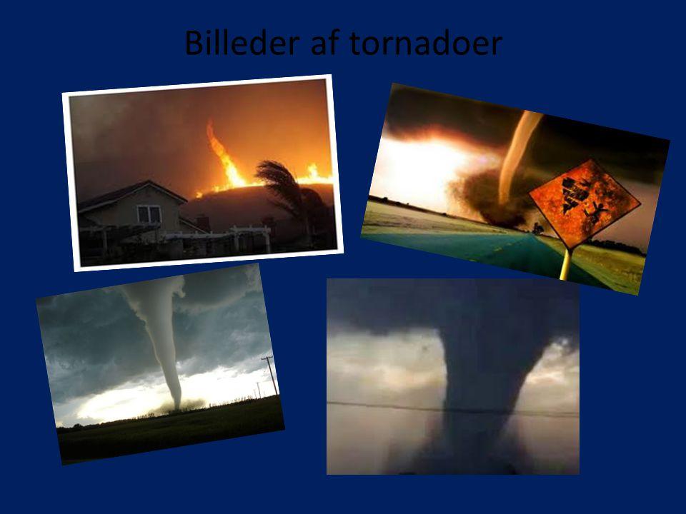 Billeder af tornadoer