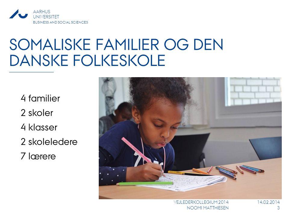 Somaliske familier og den danske folkeskole