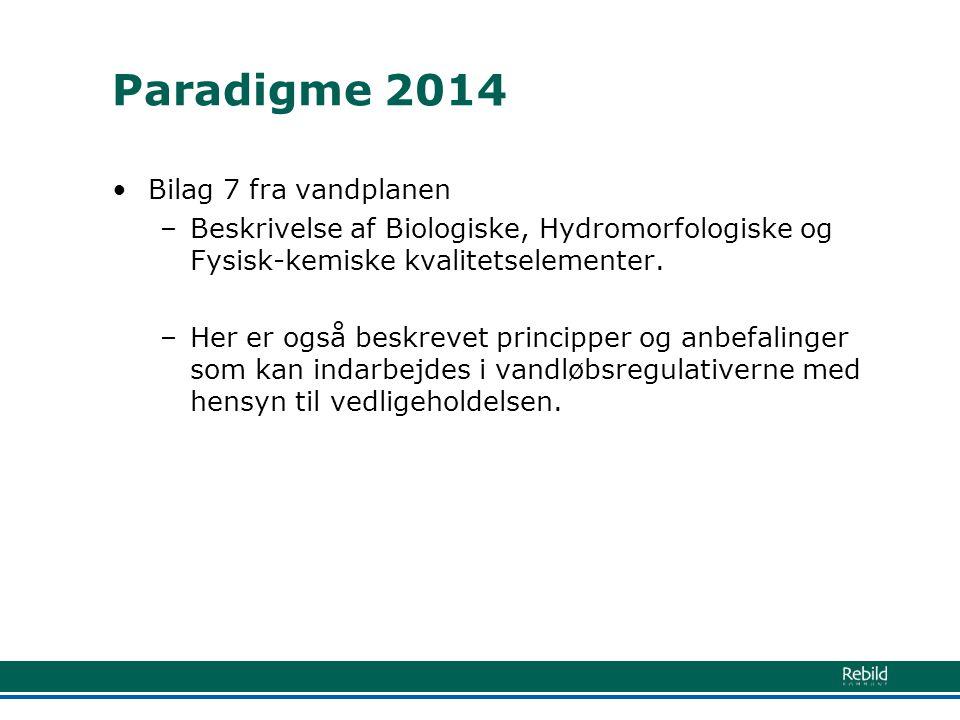 Paradigme 2014 Bilag 7 fra vandplanen