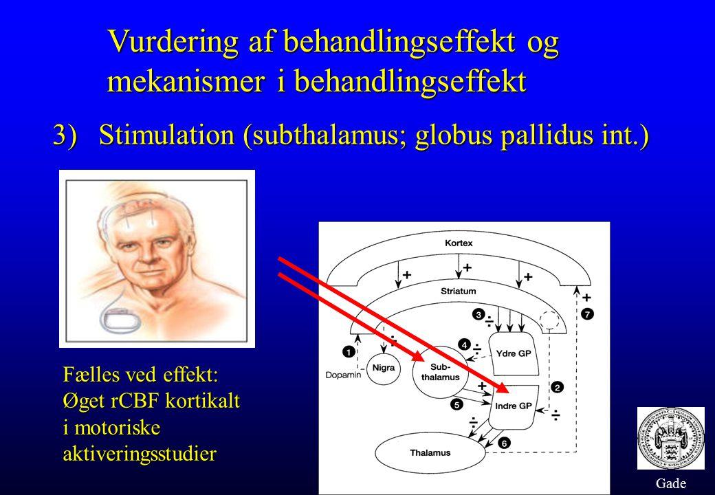 Vurdering af behandlingseffekt og mekanismer i behandlingseffekt