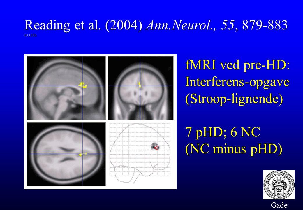 Reading et al. (2004) Ann.Neurol., 55, 879-883 #1168b