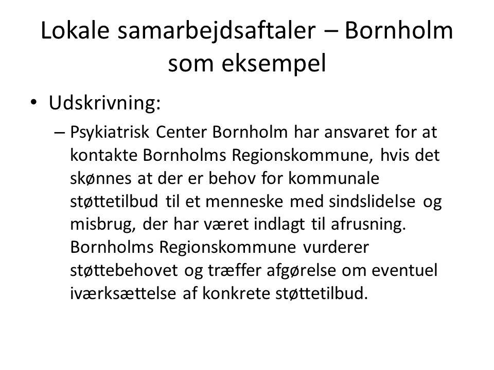 Lokale samarbejdsaftaler – Bornholm som eksempel